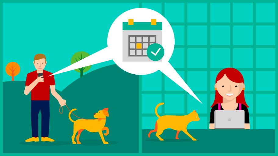 4 formas do Microsoft Bookings simplificar o processo de agendamento e melhorar o atendimento ao cliente